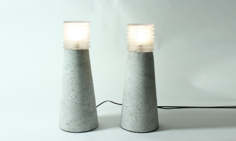 Saxion – Schuimbeton tuinlampen