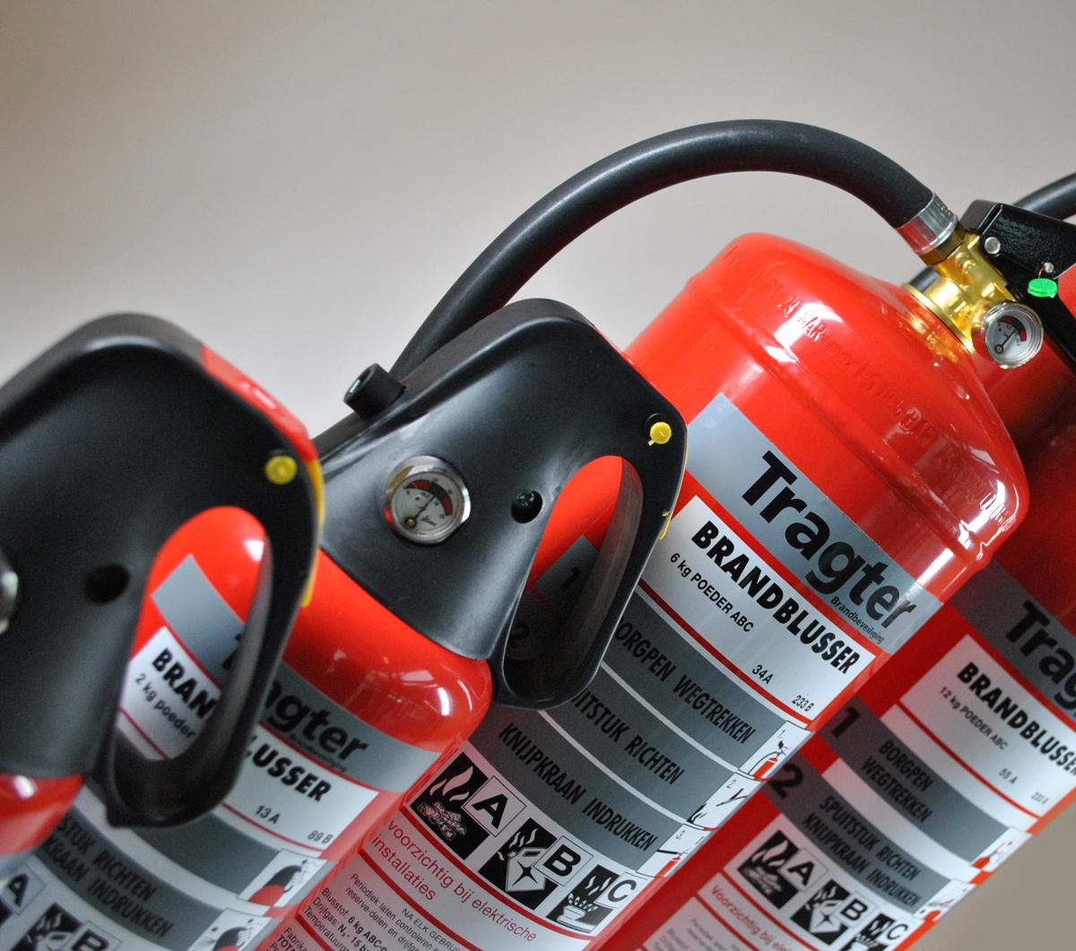 Tragter brandbeveiliging – Productfotografie